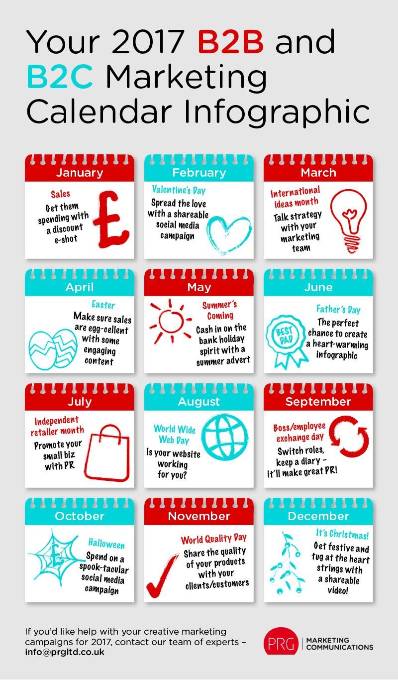 Marketing Calendar Ideas : Make your year with our marketing calendar prg